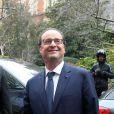 Le président de la république François Hollande, en visite au groupe numérique français Webedia à Paris, le 10 mars 2015