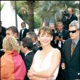 Sophie Marceau lors du 58e Festival de Cannes en 2005