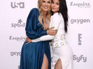 Khloé Kardashian et Kylie Jenner: Décolletés et jambes à l'air devant leur maman