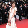"""Inès de la Fressange - Montée des marches du film """"Irrational Man"""" (L'homme irrationnel) lors du 68e Festival International du Film de Cannes, à Cannes le 15 mai 2015."""