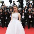 """Heike Makatsch - Montée des marches du film """"Irrational Man"""" (L'homme irrationnel) lors du 68e Festival International du Film de Cannes, à Cannes le 15 mai 2015."""