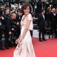 """Inès de la Fressange, Cheryl Fernandez-Versini (Cheryl Cole), Heike Makatsch - Montée des marches du film """"Irrational Man"""" (L'homme irrationnel) lors du 68e Festival International du Film de Cannes, à Cannes le 15 mai 2015."""