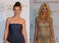 Cannes 2015 : Lorie et Victoria Silvstedt, duo glamour et généreux
