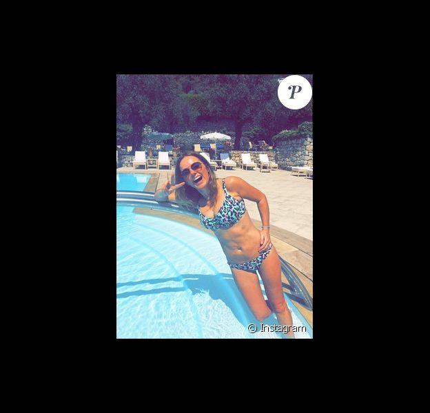 Geri Halliwell en lune de miel à Cannes, sur Instagram le 18 mai 2015