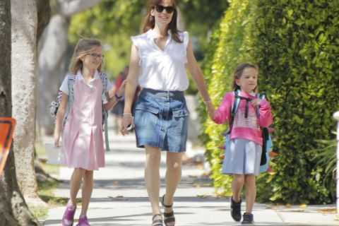 Jennifer Garner : Maman engagée avec Violet, Seraphina et le petit Samuel