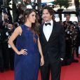 """Nikki Reed et son mari Ian Somerhalder - Montée des marches du film """"Youth"""" lors du 68e Festival International du Film de Cannes, le 20 mai 2015."""