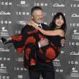 Alec Baldwin et sa femme Hilaria Thomas à la soirée Icon Awards à Madrid le 1 er octobre 2014