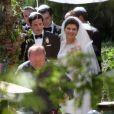 Exclusif - Casey Wilson et David Caspe se sont mariés lors d'une cérémonie de intime au Ojai Valley Inn à Ojai, le 25 mai 2014. i