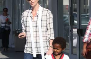 Charlize Theron : Une championne française comme nounou pour son fils Jackson