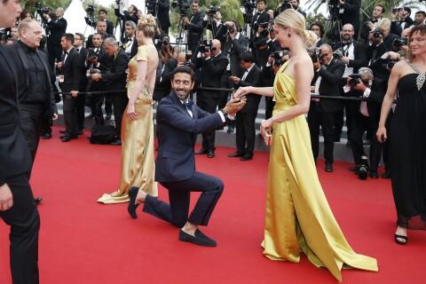 Cannes 2015 : Une demande en mariage sur le tapis rouge vire à l'échec...