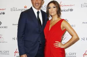 Nikos, amoureux et généreux, devant Alex Goude et son mari au Global Gift Gala