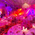 Exclusif - Dîner du Global Gift Gala, organisé au Four Seasons Hôtel George V à Paris, le 25 mai 2015.