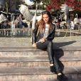 Marine Lorphelin : vacances en Australie avec son amoureux Christophe