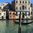 Zack Dugong et Marine Lorphelin passent du bon temps à Venise. Février 2015.