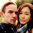 La dernière photo de Jonathan Rhys-Meyers, prise avec sa fiancée Mara Lane. (photo postée le 26 mai 2015)