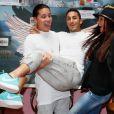 """Jon, Vivian, Julia - Photocall des """"Anges 7"""" au Barrio Latino à Paris, le 26 mai 2015.26/05/2015 - Paris"""
