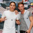 "Jon, Micha - Photocall des ""Anges 7"" au Barrio Latino à Paris, le 26 mai 2015.26/05/2015 - Paris"