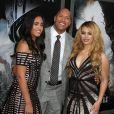 """"""" Simone Alexandra Johnson, Dwayne Johnson, Dinah-Jane Hansen - Première du film """"San Andreas"""" à Los Angeles le 26 mai 2015.  """""""
