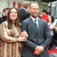 """Melissa McCarthy et Jason Statham- Avant-première du film """"Spy"""" à Londres le 27 mai 2015."""