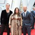 """Jude Law, Melissa McCarthy et Jason Statham- Avant-première du film """"Spy"""" à Londres le 27 mai 2015."""