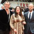 """Jude Law, Melissa McCarthy et Jason Statham - Avant-première du film """"Spy"""" à Londres le 27 mai 2015."""