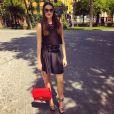 Célia Jaunat, la compagne de Grzegor Krychowiak - photo publiée sur son compte Instagram le 12 avril 2015