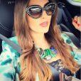 Célia Jaunat, la compagne de Grzegor Krychowiak - photo publiée sur son compte Instagram le 9 avril 2015