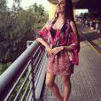Célia Jaunat, la compagne de Grzegor Krychowiak - photo publiée sur son compte Instagram le 3 avril 2015