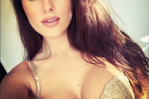 Célia Jaunat : Sexy brune fière de son champion de footeux Grzegorz Krychowiak