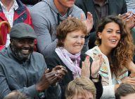 Roland-Garros : Jo-Wilfried Tsonga cartonne devant sa jolie Noura et ses parents