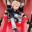 Jessica Simpson a ajouté une photo de son fils Ace sur Instagram, le 8 avril 2015