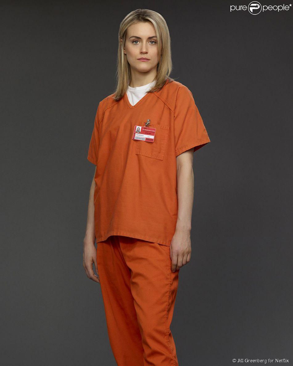 Piper Chapman, jouée par Taylor Schilling dans Orange is the New Black