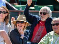 Julie Gayet : Un magnifique sourire dans les tribunes de Roland-Garros