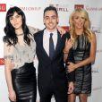Ali Lohan, Michael Lohan Jr et Dina Lohan à la soirée The Nassimi Group TNG Holiday Launch Celebration à New York le 17 décembre 2014