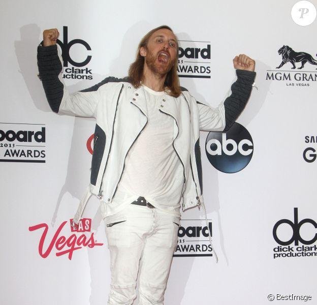 David Guetta lors des Billboard Music Awards à Las Vegas le 17 mai 2015