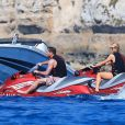 Paris Hilton en vacances à Formentera avec son boyfriend Hans Thomas Gross, le 9 juin 2015.
