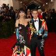 Katy Perry et Jeremy Scott au Met Gala 2015 à New York. Le 4 mai 2015.