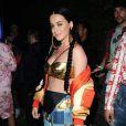 Katy Perry à la soirée Moschino en marge du festival de Coachella. Le 11 mai 2015.