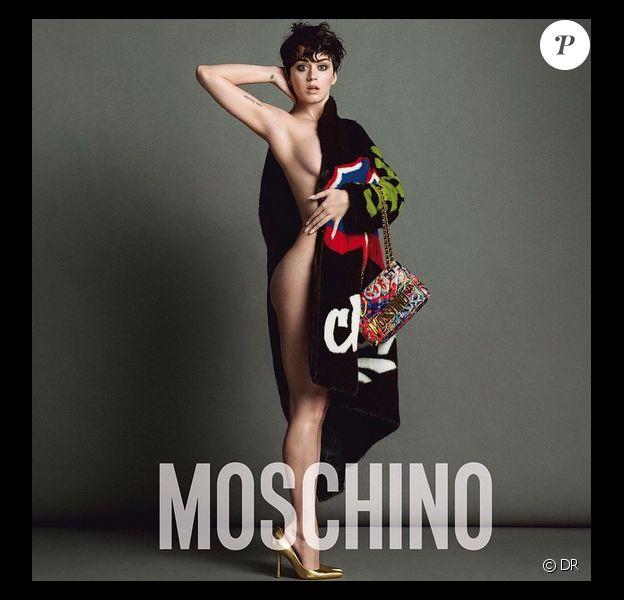 Katy Perry est la nouvelle égérie de la marque Moschino - Juin 2015
