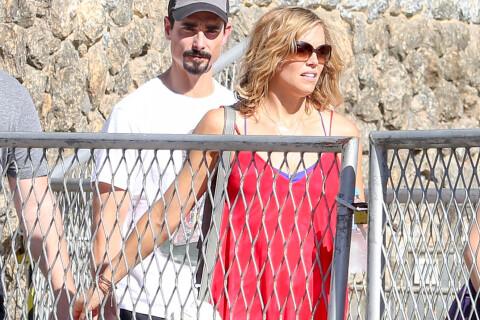 Kevin Richardson : En amoureux, la star des Backstreet Boys joue les touristes