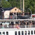 S/S Stockholm - Arrivées au dîner à bord du S/S Stockholm la veille du mariage du prince Carl Philip de Suède et de Sofia Hellqvist à Stockholm le 12 juin 2015  Arrivals for the pre-wedding dinner - Royal wedding of Prince Carl Philip and Sofia Hellqvist in Stockholm, Sweden 2015-06-1212/06/2015 - Stockholm