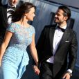 Le prince Carl Philip de Suède et Sofia Hellqvist - Arrivées au dîner à bord du S/S Stockholm la veille du mariage du prince Carl Philip de Suède et de Sofia Hellqvist à Stockholm le 12 juin 2015  Prince Carl Philip, Sofia Hellqvist Arrivals for the pre-wedding dinner - Royal wedding of Prince Carl Philip and Sofia Hellqvist in Stockholm, Sweden12/06/2015 - Stockholm