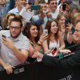 Quentin Tarantino aux David di Donatello Awards à Rome le 12 juin 2015.