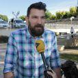 Primoz Prost au premier jour du procès des paris suspects et du supposé match de handball truqué au tribunal correctionnel de Montpellier le 15 juin 2015