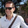 Mladen Bojinovic au premier jour du procès des paris suspects et du supposé match de handball truqué au tribunal correctionnel de Montpellier le 15 juin 2015