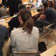 Nikola Karabatic et Géraldine Pillet au premier jour du procès des paris suspects et du supposé match de handball truqué au tribunal correctionnel de Montpellier le 15 juin 2015ontpellier