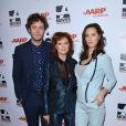Susan Sarandon avec son fils Jack et sa fille Eva aux AARP's 13th Annual Movies for Grownups Awards Gala à Los Angeles le 10 février 2014