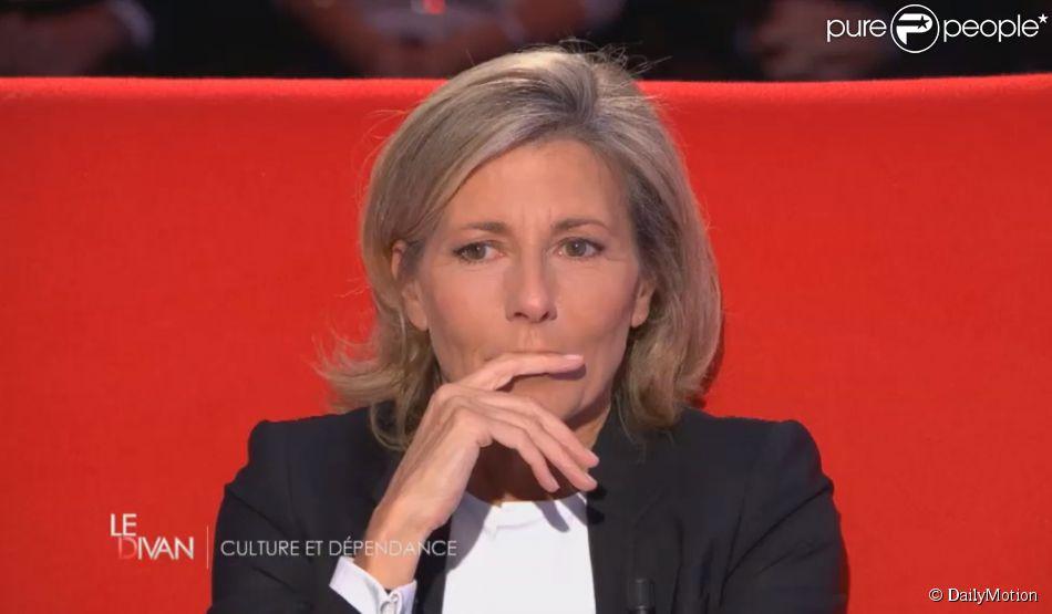 Claire chazal tr s mue dans le divan de marc olivier for Le divan 9 juin 2015