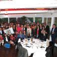 Exclusif - Photo de groupe de tous les invités, lors de la soirée des Niçois à l'Espace Montmartre à Paris, le 9 juin 2015.