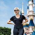 Lily Allen à Disneyland Paris le vendredi 19 juin 2015.